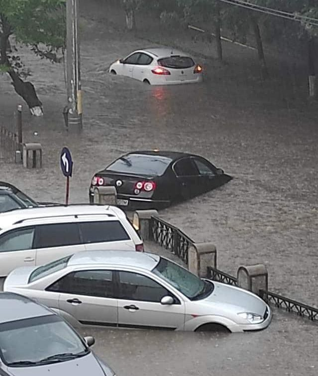 craiova inundată