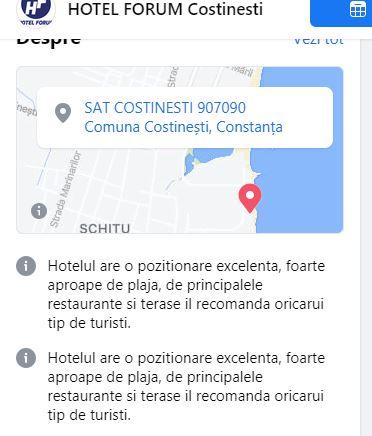 Hotel Forum, Costinești