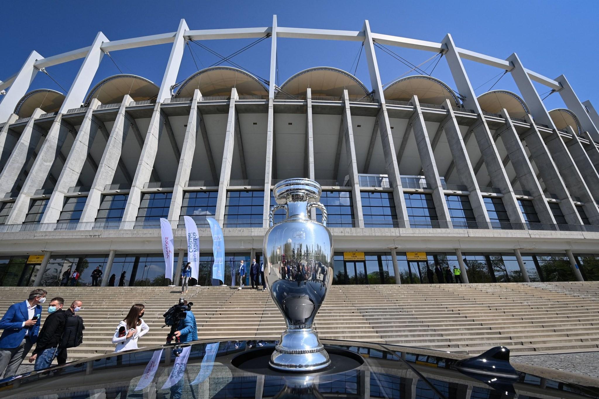 Trofeul Euro 2020, la Arena Naţională