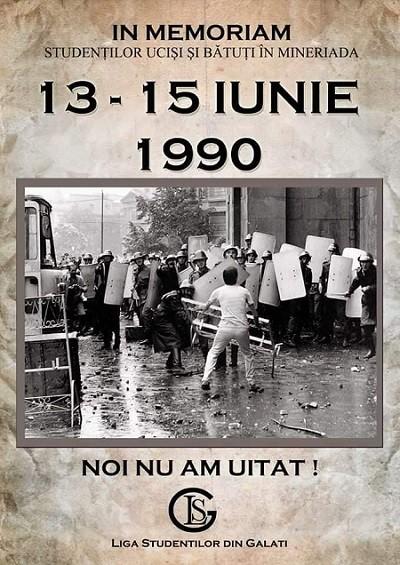 Afiș al Ligii Studenților din Galați (sursa google.ro)
