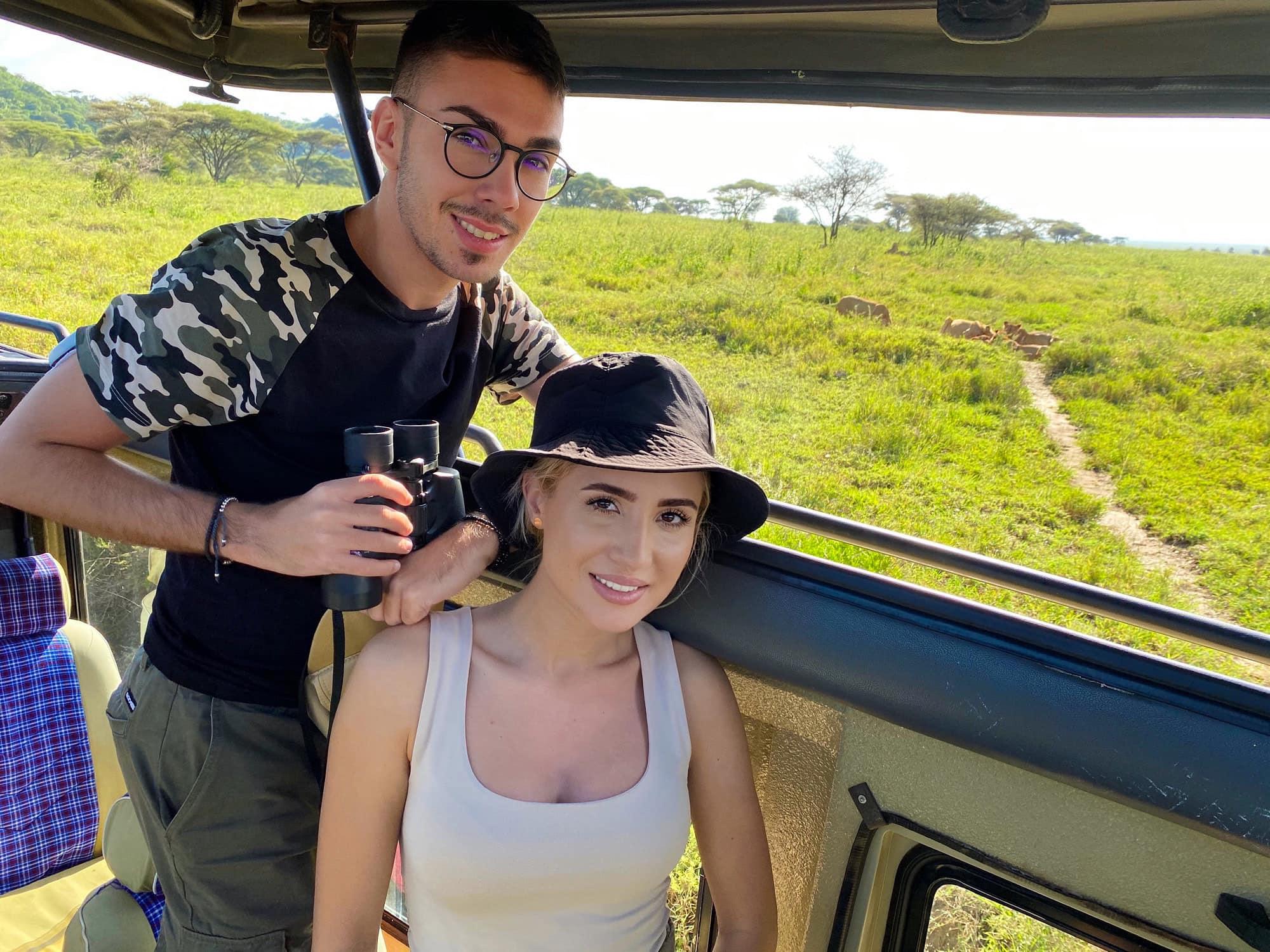 Armin Nicoara si Claudia Puican