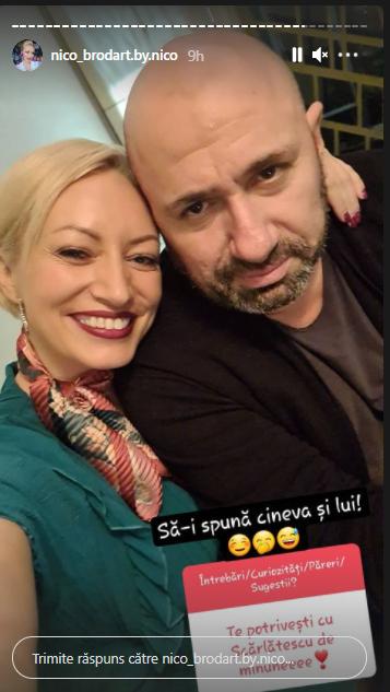 Nicoleta Pop și Cătălin Scărlătescu