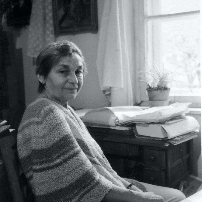 Doina Cornea s-a făcut remarcată în timpul disidenței împotriva regimului Ceaușescu (sursa facebook.com)