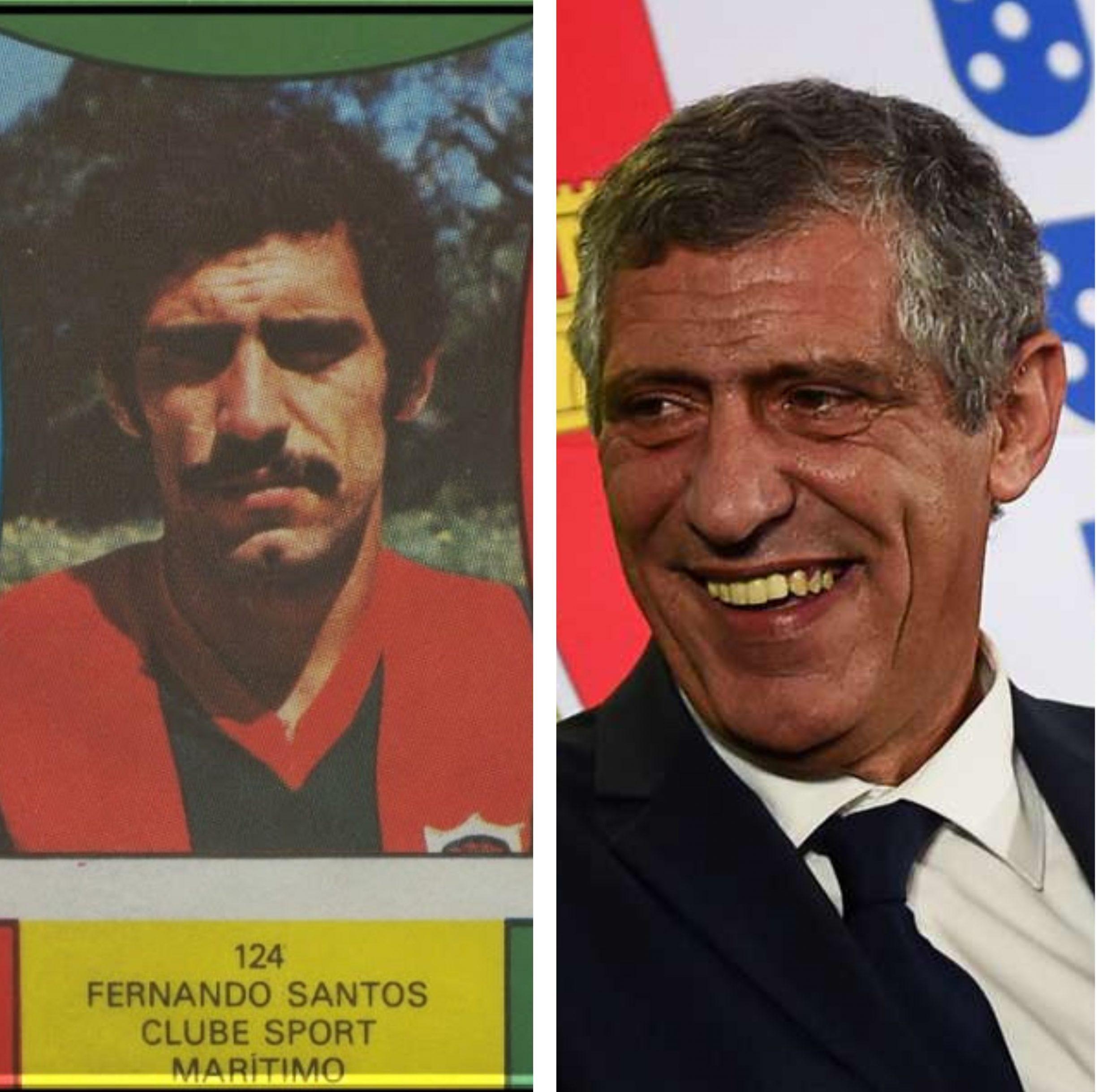 Fernando Santos (66 de ani) a jucat nu mai putin de 13 ani pentru Estoril si o scurta perioada la Maritimo. S-a retras la 33 de ani, in 1987. Sursa foto: colaj Fanatik