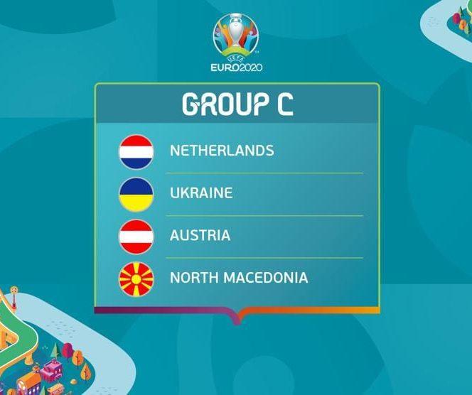 Grupa C la Euro 2020