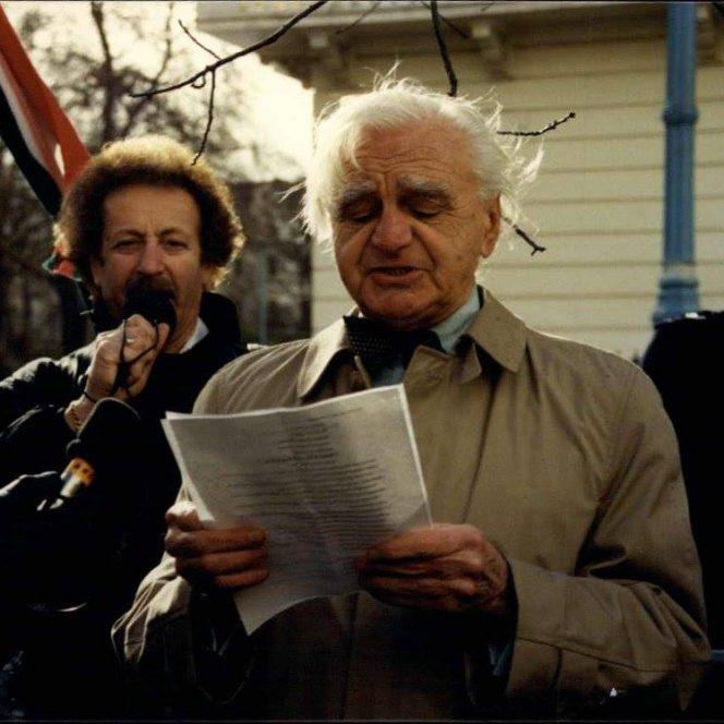 Ion Rațiu, fostul președinte al Uniunii Mondiale a Românilor de Pretutindeni (sursa facebook.com)