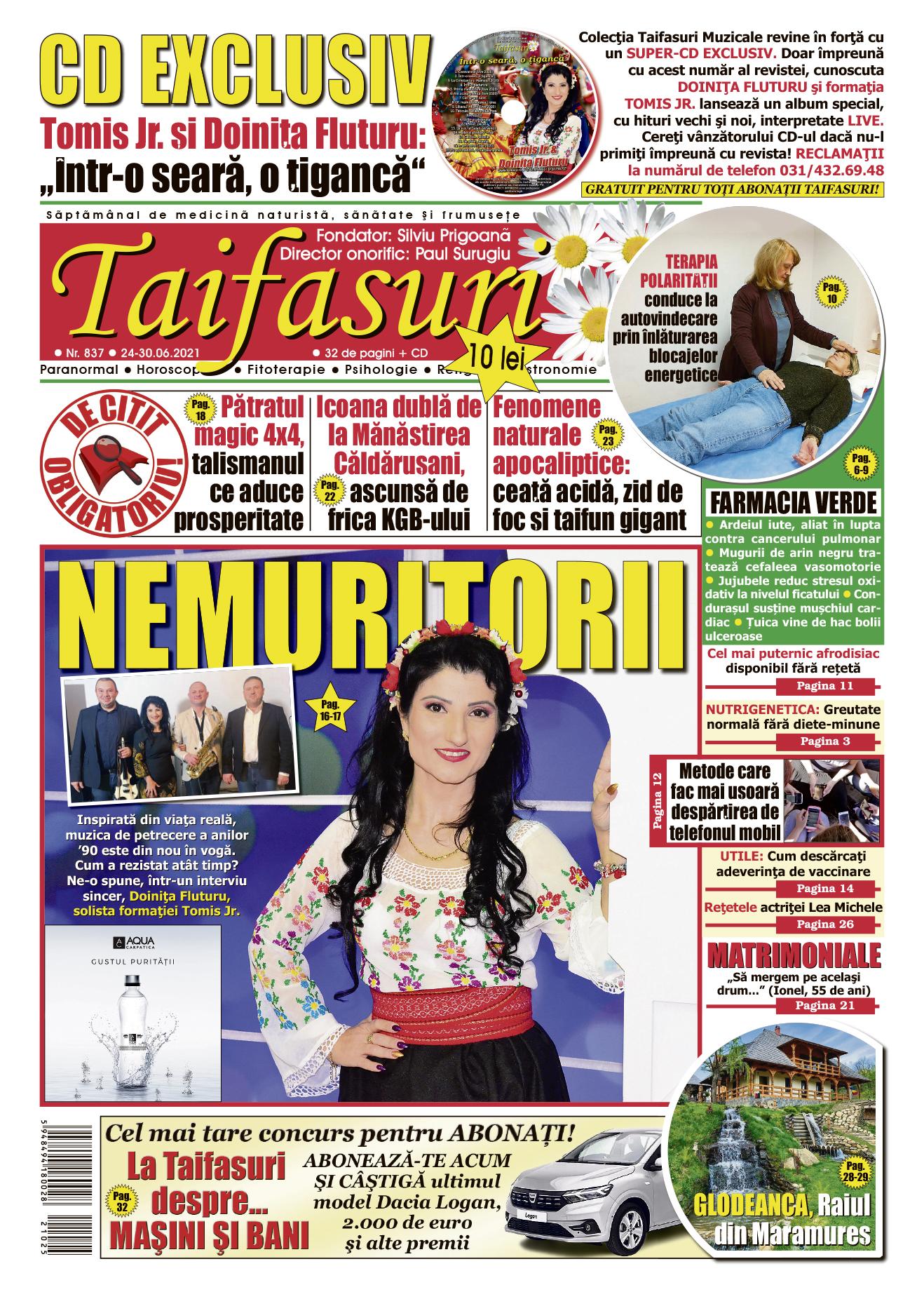 coperta revista Taifasuri 837