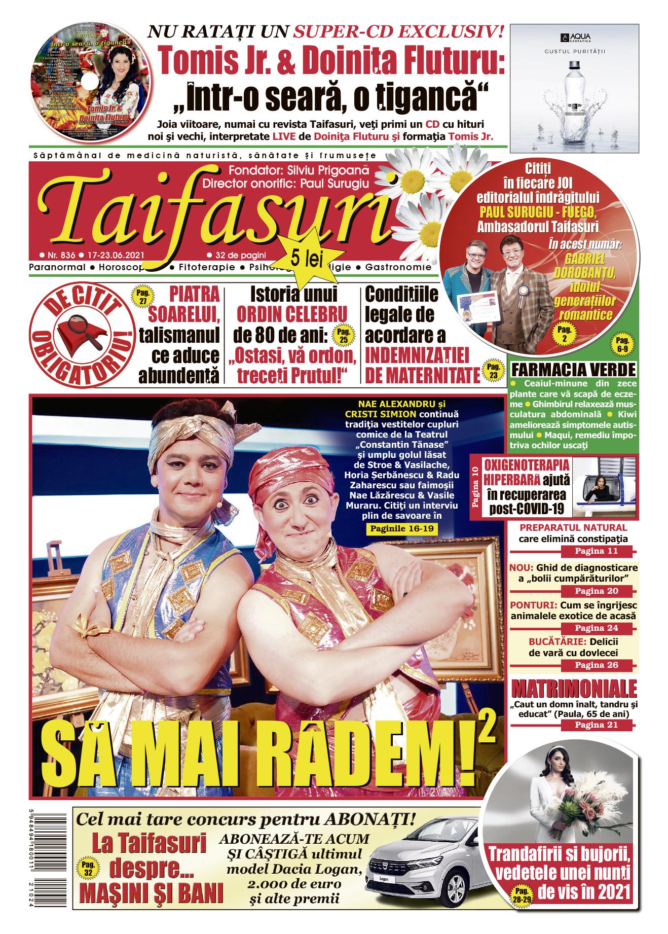 coperta revista Taifasuri 836