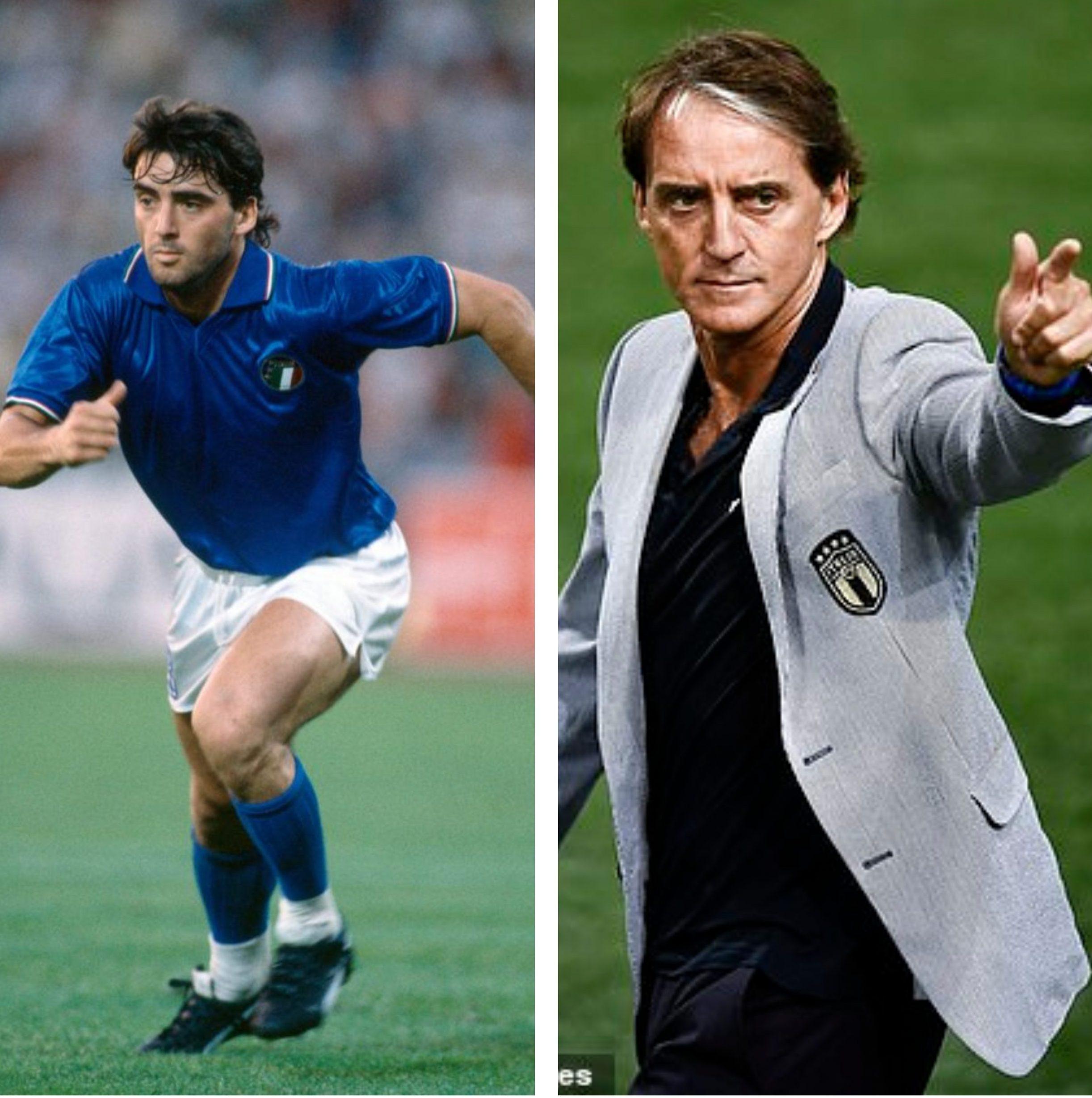 Roberto Mancini, selectionerul Italiei. Sursa foto: colaj Fanatik