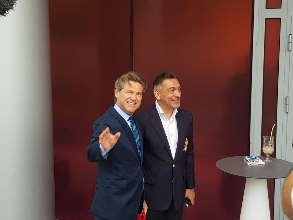 Ilie Dumitrescu și Florin Răducioiu
