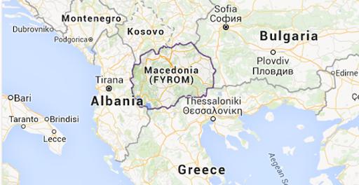Unde se afla Macedonia de Nord pe harta si ce vecini are