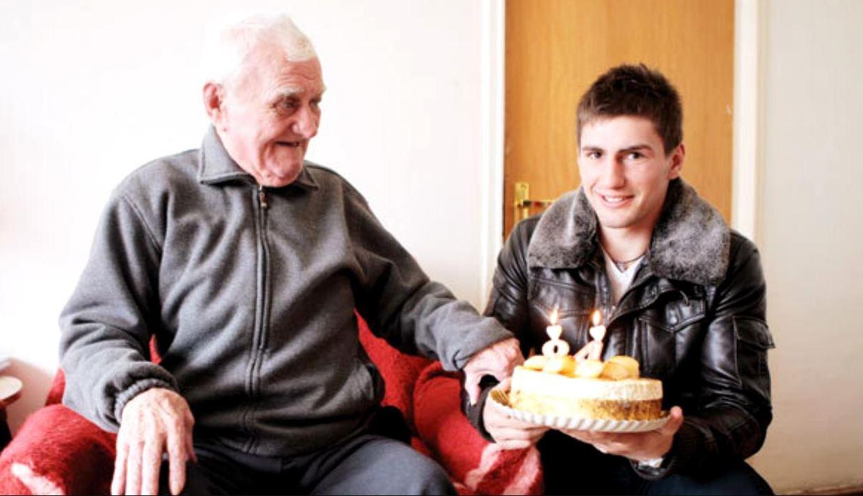 Vasile Tiță, la împlinirea vârstei de 84 de ani