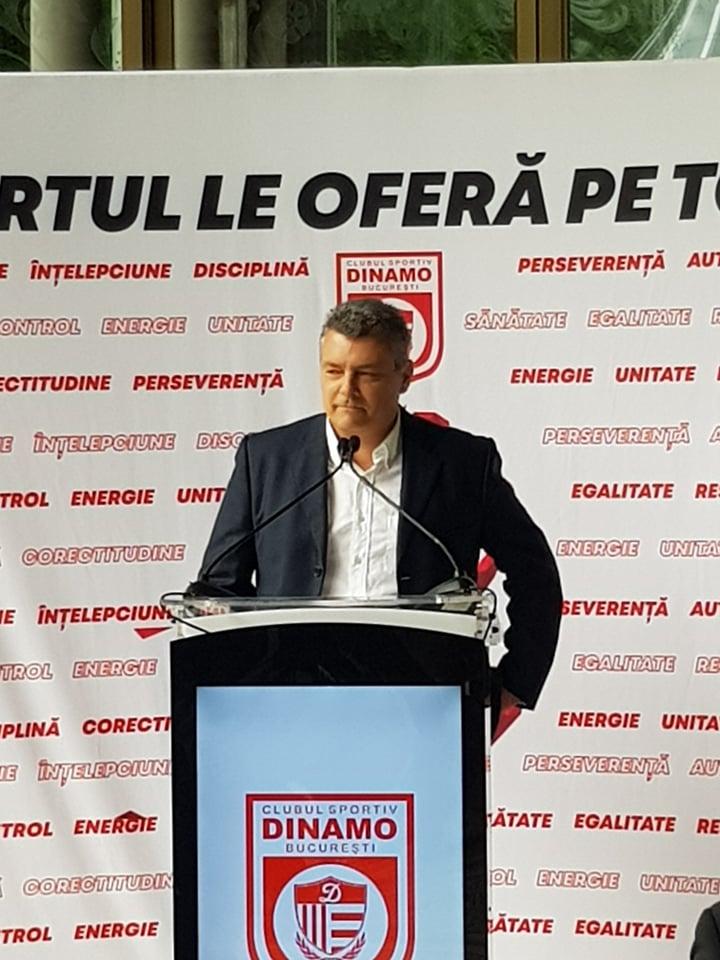 Xavier Pascual, interviu la prezentarea oficială de la Dinamo