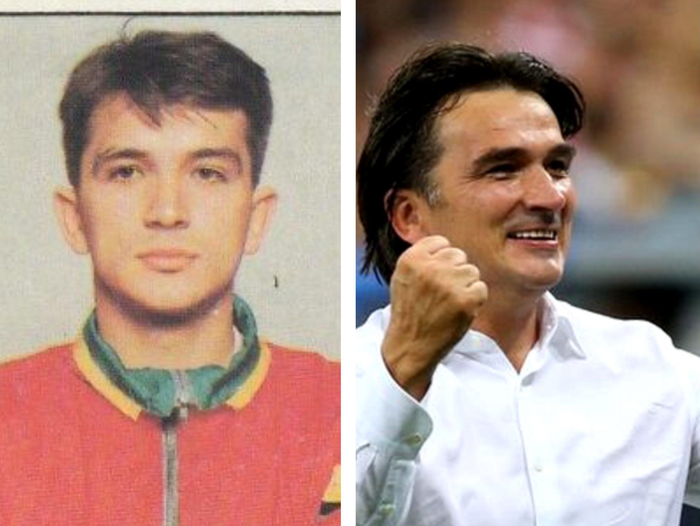 Zlatko Dalic, selectionerul Croatiei si fostul jucator al lui Hajduk Split