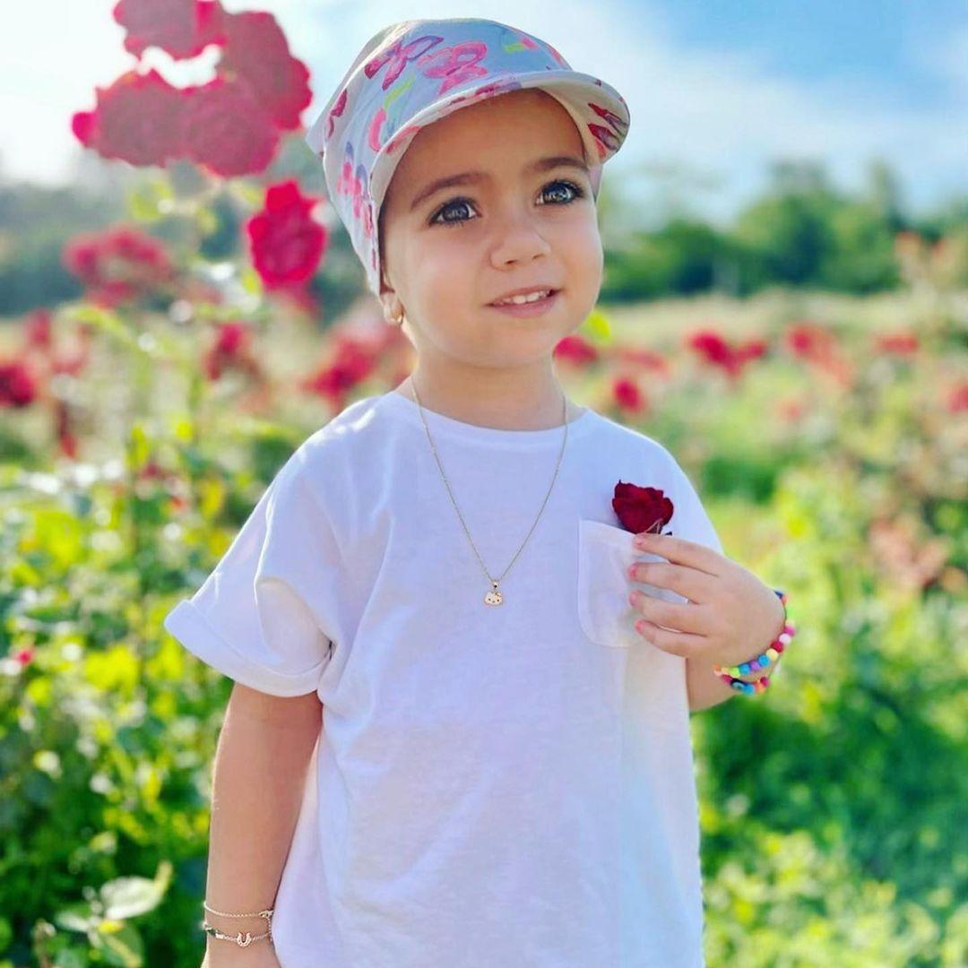 Cum arată fetița lui Bursucu de la Kanal D, la trei ani.