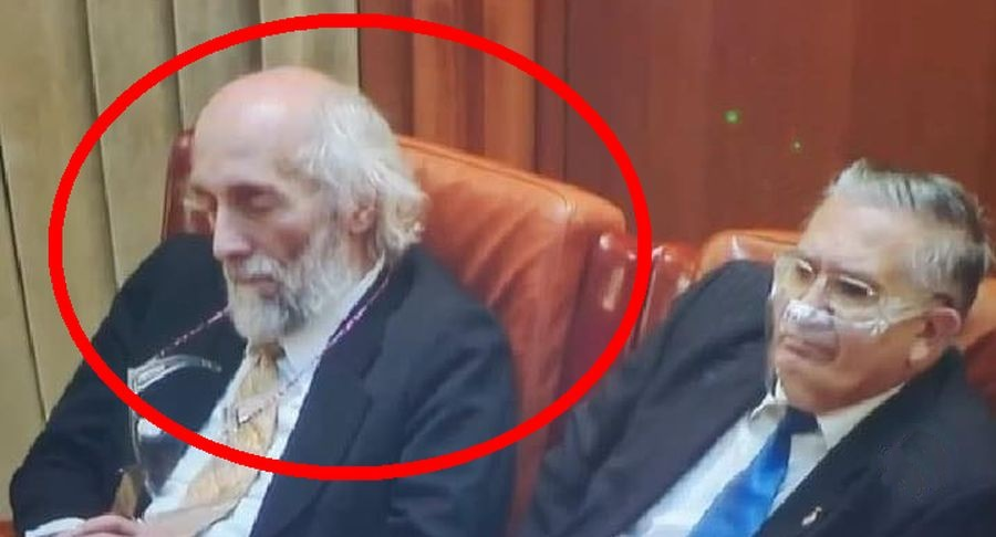 Mircea Dăneasă își deschide chakrele în Parlament. Sursa foto: stirisuceava.net