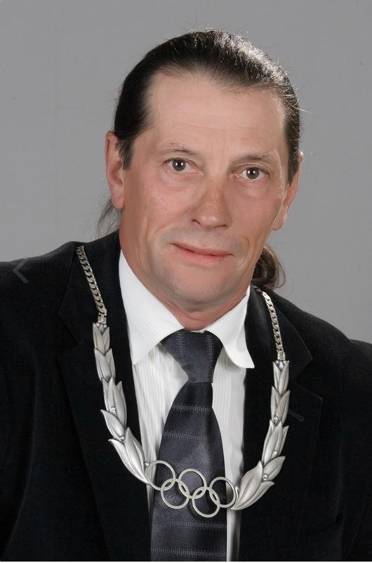 Ivan Patzaichin, cu Ordinul Olimpic de Argint