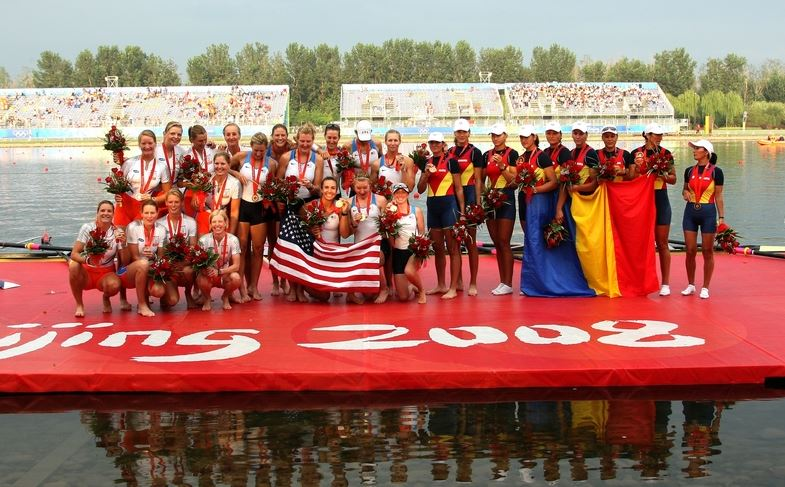 Podiumul de la Beijing 2008