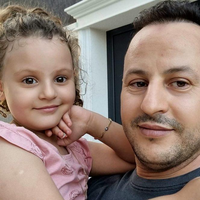 Soțul și fiica Jamilei