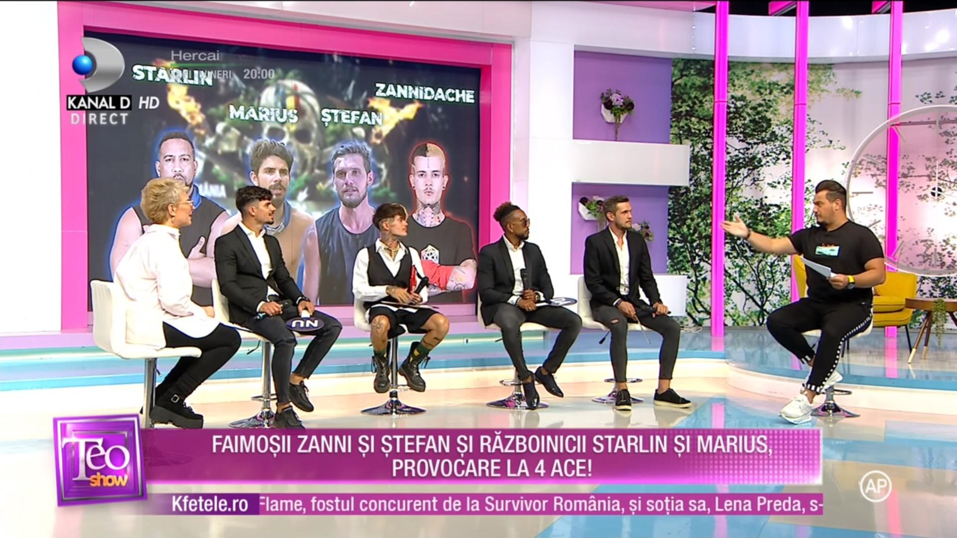 zannidache survivor românia