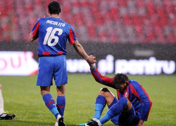 2.FOTBAL:STEAUA BUCURESTI-FC OTELUL GALATI 1-0,LIGA 1 (13.04.2011)