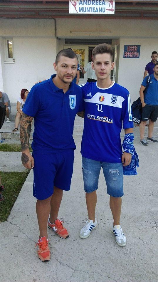 FC U CRAIOVA VIDEO. Peluza Sud este la meci (2)