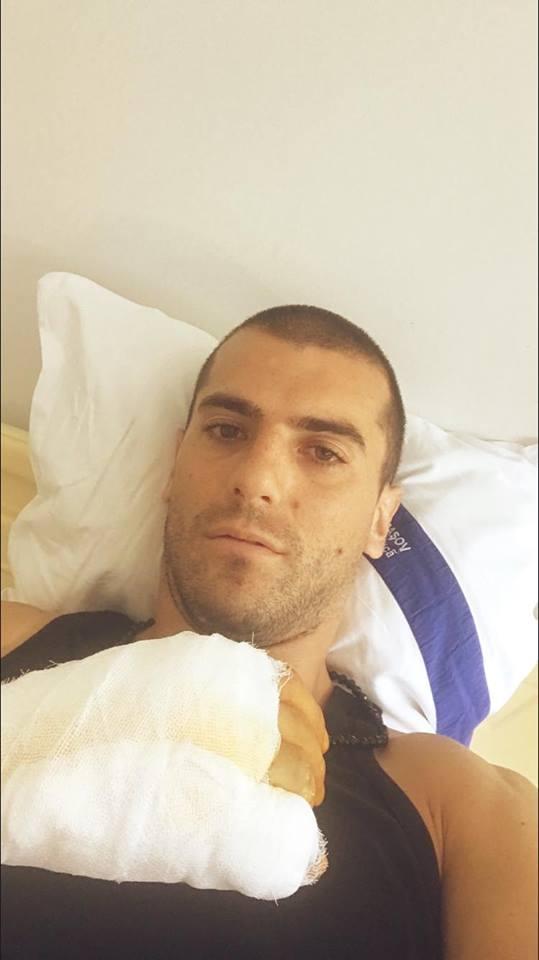 Nikolic Sepsi. Atacantul muntenegrean s-a accidentat la antrenament (2)