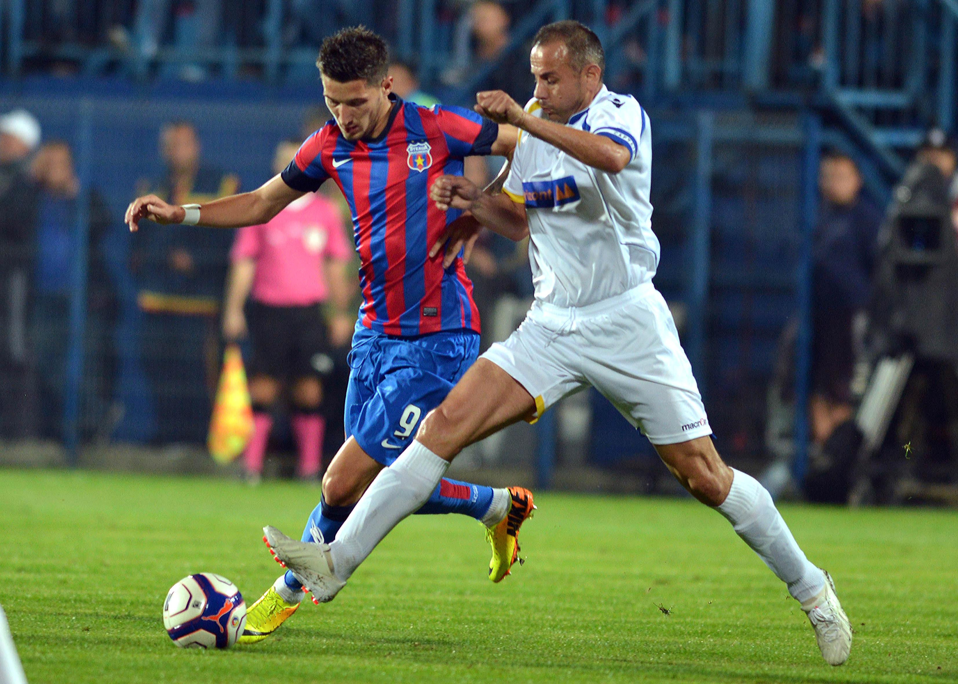 2.FOTBAL:STEAUA BUCURESTI-AVANTUL BARSANA 1-0,CUPA ROMANIEI TIMISOREANA (26.09.2013)