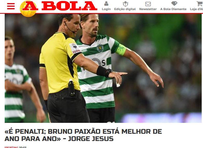 Sporting Lisabona a invins in ultima etapa dintr-un penalty discutabil (4)