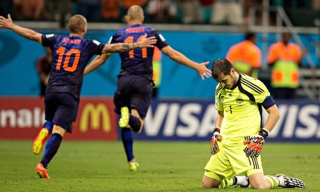 Spain v Holland