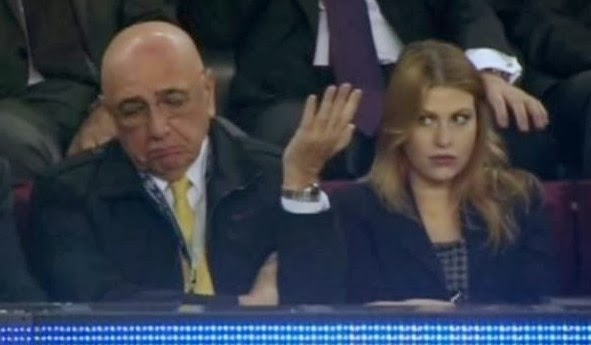 Milan-watching-Galliani-Barbara-Berlusconi-2