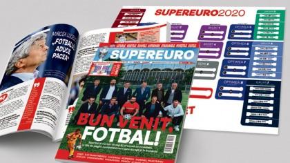 Nu rata! A apărut SuperEuro, cea mai tare revistă glossy dedicată Euro 2020:...