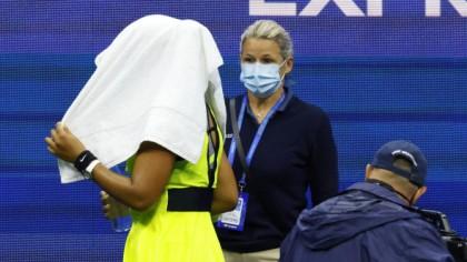 Naomi Osaka a făcut o criză de nervi pe teren la US Open,...